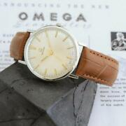 Authentic 1964and039 Omega Geneve 131.019 Manual Wind St Steel Gents Watch Swiss Made