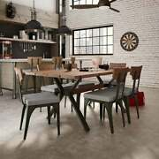 Amisco Laredo Table And Rally Chairs Dining Set