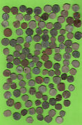 Golden Horda Copper Pulo Ca 1380 Russia Saray City Lot Of 100 Coins 261