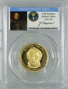 2009 - S Zachary Taylor Dollar - Pcgs Pr69dcam - Limited Edition Series