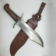 Bowie Knife Huge 15 Inches Overall Length With Sheath