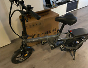 Electric Bike Without Chain 14inch Mini Electric Bicycle 30km/h Powerful Sctooer