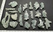 Beautiful Stones Of Pointed Apophyllite Cluster Tips Crystal Specimens Lot 1324