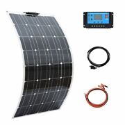 Solar Panel Kit Complete Photovoltaic Panels Cell Battery Home Car Boat Yacht