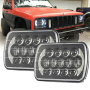 7x6 Brightest Led Headlight For Chevrolet Jeep Cherokee Xj Driving Lights