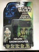 Star Wars Power Of The Force - Deluxe Snowtrooper - New And Factoy Sealed