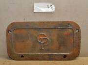 Cp Central Pneumatic Machine Cover Plate Cast Iron Industrial Steampunk G3