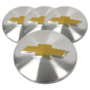 Machined Center Caps W/chevy Logo For 14-17 Chevy Impala 2.25 [set Of 4]