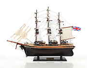 The Cutty Sark 1869 Wooden Tall China Clipper Ship Model 22 Fully Built Replica