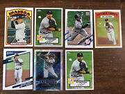 Gleyber Torres Lot Of 7 Different 2021 Topps Heritage/donruss/topps With Inserts