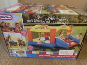 Little Tikes Jump N' Slide Bouncer, Blower, Stakes, Storage Bag New In Box