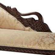 Design Toscano Swan Fainting Couch Left