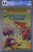 Showcase 6 Dc Pub 1957 Cgc 5.0 Vg/f 1st Appearance Challengers Of The Unknown