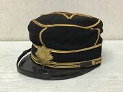 Y2579 Imperial Japan Army Court Uniform Hat Personal Gear Japanese Ww2 Vintage