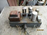 Thordarson Single Ended 6l6 Tube Amplifier For Rca