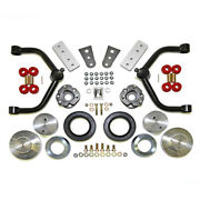 Front Strut Extensions/rear Coil Spacer Suspension Lift Kit For 09-19 Ram 1500