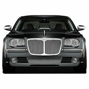 Premium Fx Chrome Top Bezeled Replacement Grille For 2005-2010 Chrysler 300/300c