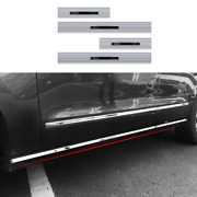Silver Side Step Running Board Nerf Bar Protect For Lincoln Navigator 2018-2021