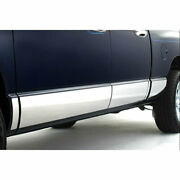 Lower 3 1/8and039and039 14pc Chrome Rocker Panels For 09-2018 Dodge Ram Lar. Crew Shortbed