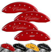 Engraved Set Of 4 Mgp Brake Caliper Covers For Cadillac Cts - 35011