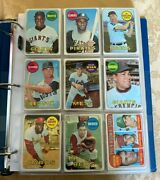 1969 Topps Baseball 460 Cards/664 Vgex-exmt, Loaded With Stars-ryan,mays,bench