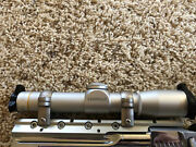 Leupold Fxii Scope W/ Rings Alumina Cover Front And Back All Parts Are Htf