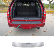 Chrome Steel Outer Rear Bumper Protector Guard For Lincoln Navigator 2016-2017