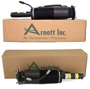 Arnott Pair Set Of Front Left And Right Reman Suspension Struts For Mercedes C215