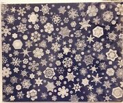New Rare Vintage 1979 Snowflakes Jigsaw Puzzle 18 X 24 Great American Factory