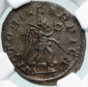 Philip I The Arab Authentic Ancient 247ad Silver Roman Coin Victory Ngc I87750