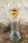 Shocktop Belgian White Wheat Ale 8 Tall Pilsner Beer Glass Cup Euc