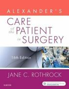 Alexanderand039s Care Of The Patient In Surgery