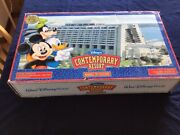 Vintage Disney's Contemporary Resort Monorail Toy Accessory Complete W/box
