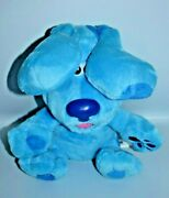 Blues Clues And You Peek A Boo Blue Plush W/ Sounds Puppy Dog See Video