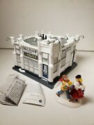 Dept. 56 White Castle Snow Village Building With People Very Rare