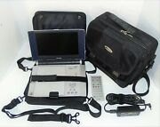 Toshiba Portable Dvd Player Sd-p2600 8.9 Lcd With Remote Control And Targus Case