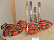 4 Homelite Chainsaw To Make Evil Dead Ash Hand Saw Collectible Parts Lot X8