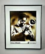 Dizzy Gillespie Signed Photograph, Framed In Excellent Condition