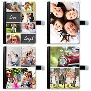 Hairyworm Personalised Photo Image Collage Deluxe Pu Leather Case For Apple Ipad