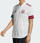 Adidas Mexico 2021 Home / White - Large / Soccer Jersey