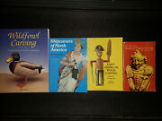 Woodworking Lot Of 4 Woodcarving Books