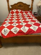 Hand Embroidered Quilt