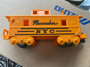 Vintage O Scale Train Railroad Box Caboose Car- Marx Pacemaker Nyc