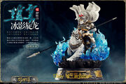 O-soul Toys Three Kingdoms Zhao Yun Cat Statue Collectible Figure Model In Stock