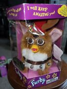 Special Kb Toys Edition Reindeer Furby New In Box Christmas Box Has Dings Dents