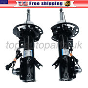 Pair Front Shock Absorber With Electric For Lincoln Mkz 2013-2017 3.7l 2.0l