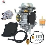 Carburetor Assembly And Pump For Polaris Sportsman 500 325 335 600 Outlaw 450 525