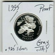 2000 Gray Jay Whisky Jack 50 Cents Cent Sterling Silver Canada Half Dollar Proof