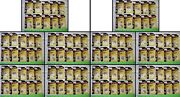 Lot Of 100 Alloy Forms 101, 6 Assorted Skids Pallets, Metal Detail Parts,n Scale