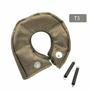 Titanium Silica Stainless Steel Wire Turbo Blanket For T3 Gt30 Heat Shield